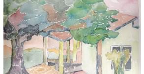 Pintura em Aquarela Spa 2
