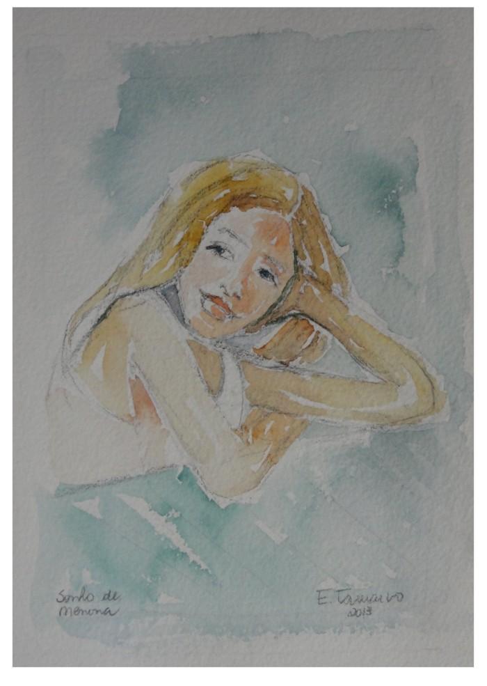 pintura aquarela beatrice 1