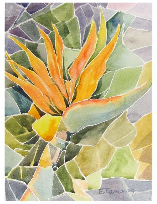 pintura aquarela flores 1