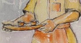 pintura em aquarela trabalhadores 2 destaque 2