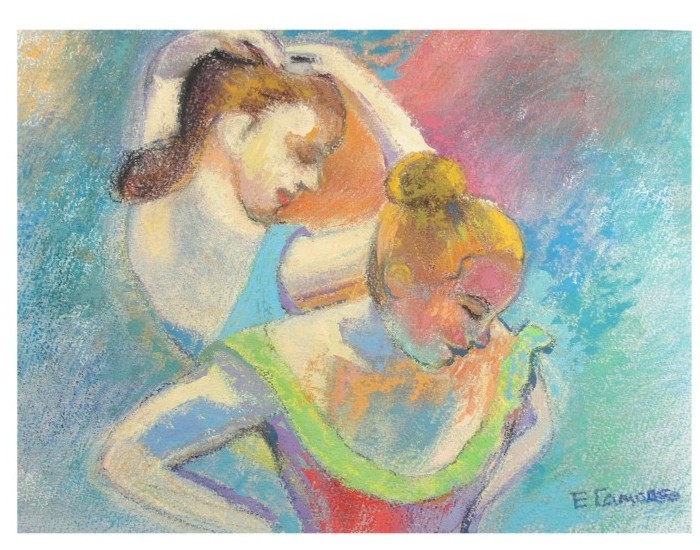 pintura em guache bailarina 6